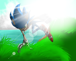 -One Hour Sonic Challenge: Sonic- by Traconian