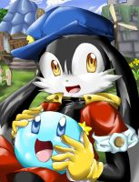 Kaze no Klonoa and Huepow by Hyrika