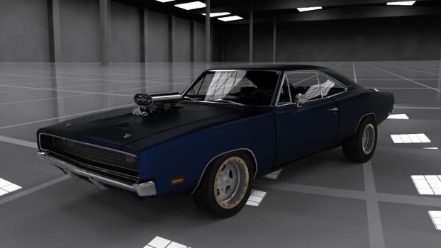 Dodge Charger RT by Ventrue533