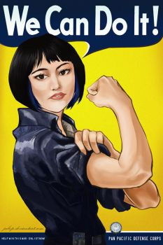 MAKO MORI - WE CAN DO IT! by Jubop