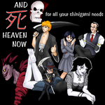 A Set of Shinigami by ErinPtah