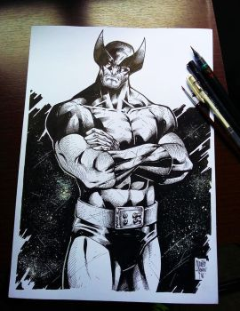 Wolverine Ink! by MARCIOABREU7