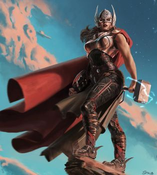 Thor by dustsplat