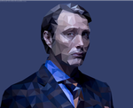 Hannibal Lecter by mossaroo