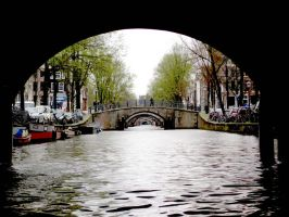 Amsterdam canals by Than1Ducis