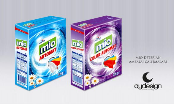 Mio Detergent Packaging Design by aydesignmedia