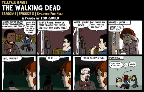 TWD S1E2 | The Skin We're In (SPOILERS) by TheGouldenWay