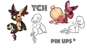 YCH Grem2 Pin Ups CLOSED by Jemjamm