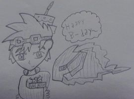 Happy B-day~ ShadowAgu by Kawaii-Nekochara