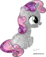 Clever Sweetie Belle space pun by und34d951