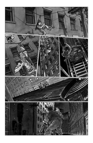 deadball noir comic pg7 chase scene by carbono14