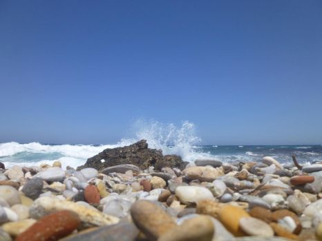 Pebbles and Spray by Sulimeth