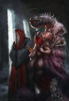 The cultists demon whisperer by Verehin