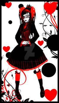 Queen of Hearts by LucitaniaMarie