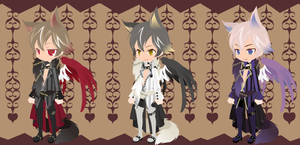 Dream Selfy Free Adopts: Beast Masters (closed) by SeitoAnna