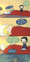 Thor Has A Cold Part 2 by blargberries