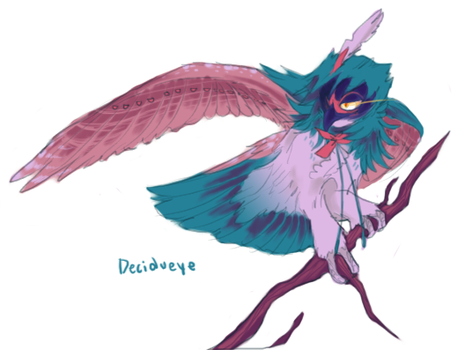 decidueye by Trunswicked