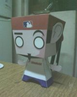 Fred Durst Papercraft by Ephedrine86