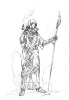 The Priest by caananwhite