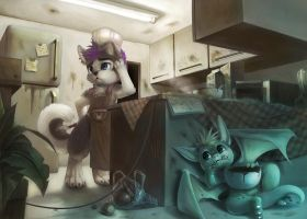 Commission for Luketh by Silverfox5213
