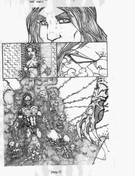 witchblade vs darkness pg 4 by vicmed