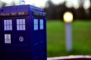 TARDIS beacon by WaywardPhotography