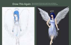 Blue Angel Contest by TapetalCookie