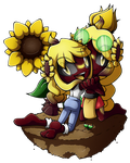.:Gift:The Sonn Sisters:. by RubySp00n