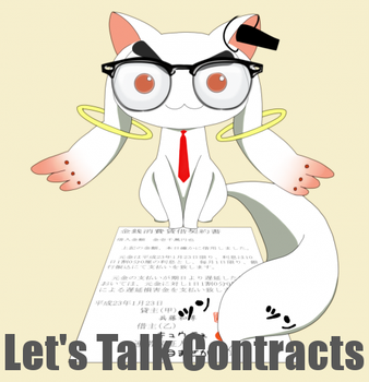 Kyubey Attorney At Law by DoctorChibi