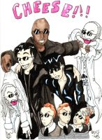 Matrix group foto inked by cheesyhairball