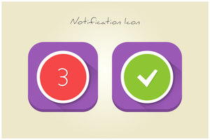 39 Notification Icon (freebie by pixelcave) by pixelcave