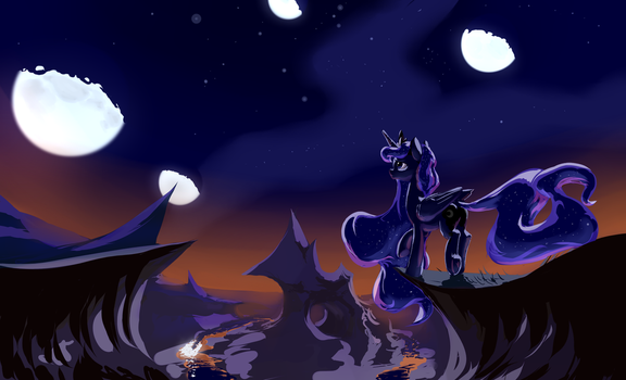 Many Moons by NadnerbD