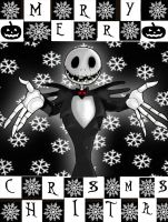 Jack Says MERRY CHRISTMAS by Little-Horrorz