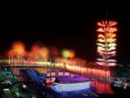 Hannover Firework-Contest by Swasha