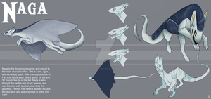 Naga Ref Page by GalacticKit