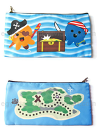 Pirate Octopus Pencil Case by egyptianruin