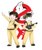 The New Ghostbusters by SkyDrew