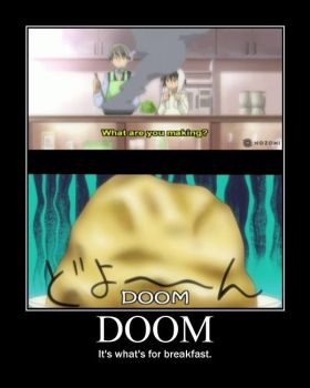 Junjou Romantica Motivational Poster: DOOM by WithinTheCosmos