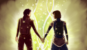 LoK- Just the two of us by yas-sketches