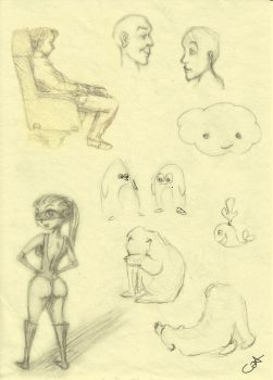 Sketches no 1 by Cat-astrofe