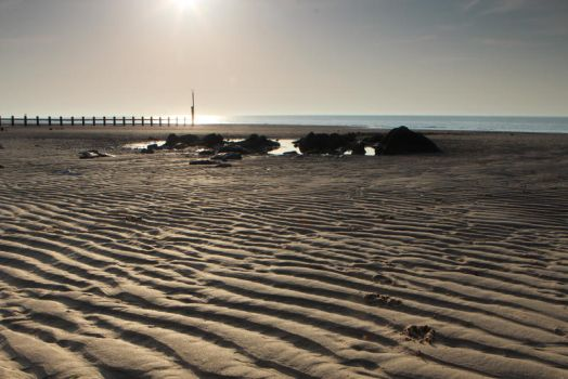 Beach Landscape - Rhyl, North Wales by Terror-Inferno