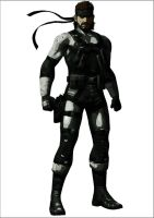 Solid Snake by st-solid-snake