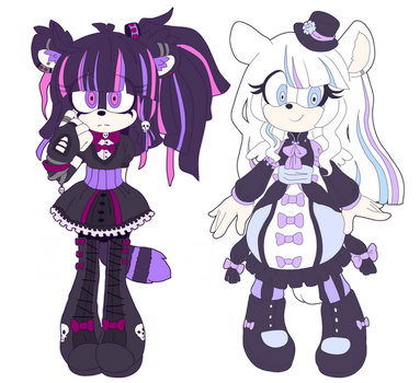 [CLOSED] Adoptables Lolita Sisters by Fivey