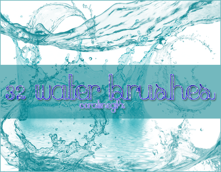 Water brushes [32] by CoralineGFX