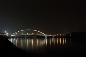 Bridge at Night by Destroth