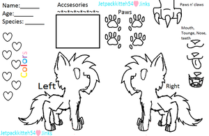 cat refrence sheet by Jetpackkitteh54