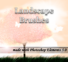 Landscape Brushes by Arya-Susy