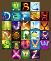 The Pokemon Alphabet