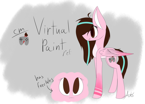 (Ref)Virtual Paint by Pinkdolphin147