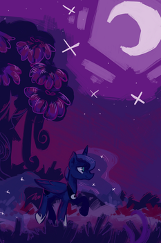 Princess Luna by White-Pilled